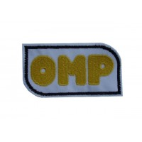 Embroidered patch 8X4 OMP