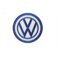 Embroidered patch 7x7  VW VOLKSWAGEN
