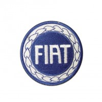 Embroidered patch 7x7 FIAT 1999 LOGO
