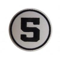 0391 Parche emblema bordado 7x7 nº 5