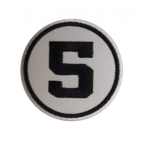 Patch emblema bordado 7x7 nº 5
