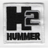 0109 Embroidered patch 7x7 HUMMER H2