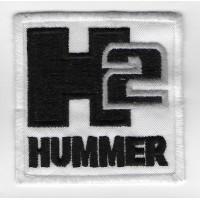0109 Patch emblema bordado 7x7 HUMMER H2