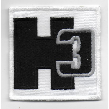 Patch emblema bordado 7x7 Hummer H3