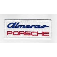 1055 Patch emblema bordado 10x4 PORSCHE CLUB