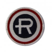 0397 Embroidered patch 4x4 R REPSOL
