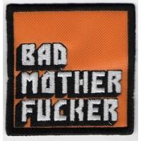 2209 Patch emblema bordado 7x7 BAD MOTHER FUCKER pulp fiction