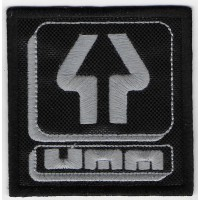 Embroidered patch 7x7 UMM