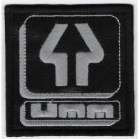 0099 Patch emblema bordado 7x7 UMM