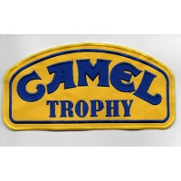 2088 Embroidered patch 20x10 CAMEL TROPHY blue