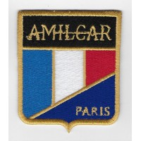 0667 Embroidered patch 7X8 RENAULT 1972 LOGO