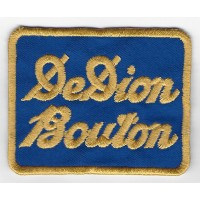 2254 Embroidered patch 8x6 DE DION BOUTON