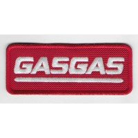 1361 Embroidered patch 10x4 GAS GAS