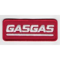 1361 Patch écusson brodé 10x4 GAS GAS