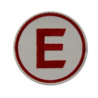 Patch emblema bordado 7x7 E