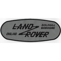 2113 Embroidered patch 27x10 LAND ROVER SOLIHULL WARWICKSHIRE