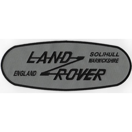 2112 Embroidered patch 27x10 LAND ROVER SOLIHULL WARWICKSHIRE