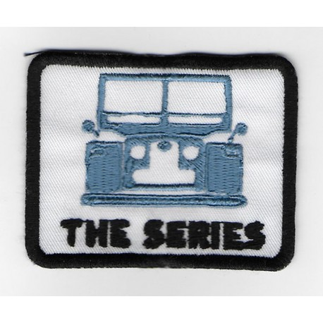 2005 Embroidered patch 8X6 LAND ROVER CLASSIC