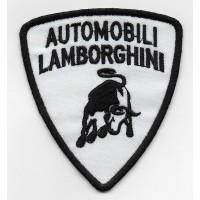 2267 Embroidered patch 9X8 AUTOMOBILI LAMBORGHINI