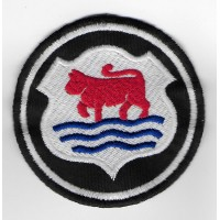 0458 Patch emblema bordado 7x7 MINI MORRIS
