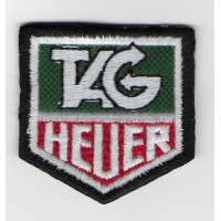 1407 Patch emblema bordado 5X5 TAG HEUER