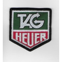2280 Embroidered patch 6X6 TAG HEUER