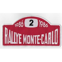 2116 Embroidered patch 23x12 RALLYE MONTE-CARLO