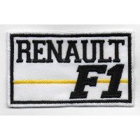 0637 Patch emblema bordado 10x6 RENAULT F1