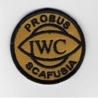 2300 Embroidered sew on patch 5X5 IWC SCAFUSIA PROBUS