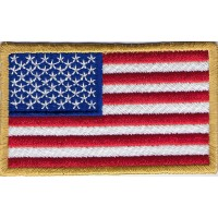 2303 Embroidered patch 9X5 flag USA UNITED STATES OF AMERICA