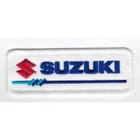 2306 Embroidered patch 10x3 SUZUKI