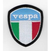 2307 Embroidered patch 7x6 VESPA ITALY PIAGGIO