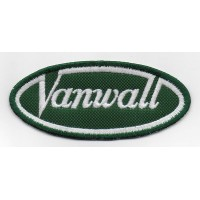 2308 Embroidered patch 10x4 VANWALL