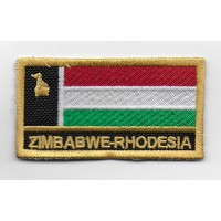 2313 Embroidered patch 7x4 ZIMBABWE RHODESIA