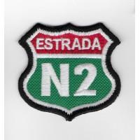 2314 Embroidered patch 6X6 EN2 ESTRADA NACIONAL 2