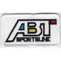 1701 Embroidered patch 8x6 ABT SPORTSLINE