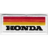 0080 Parche emblema bordado 10x4 Honda