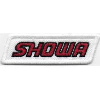 2329 Patch emblema bordado 8X3 SHOWA