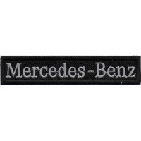 2331 Embroidered patch 11x2 MERCEDES BENZ