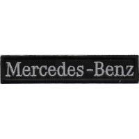 2331 Patch emblema bordado 11x2 MERCEDES BENZ