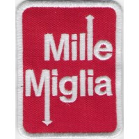 2340 Embroidered patch 8x6 1000 MIGLIA