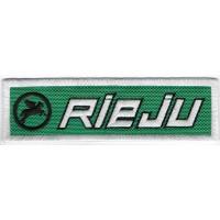 2341 Embroidered patch 11X3 RIEJU