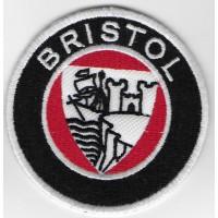 2346 Patch écusson brodé  7x7 BRISTOL CARS LTD