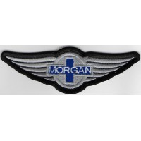 2347 Embroidered patch 13X4 MORGAN MOTOR COMPANY