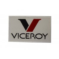 0413 Embroidered patch sew on 10x6 VICEROY