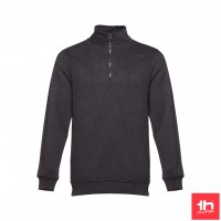 2348 Sweatshirt unissexo THC BUDAPEST com fecho 1/4
