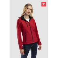 1912 women's softshell jacket customized 1 patch