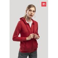 2359 WOMEn's sweat hooded jacket THC AMSTERDAM WOMAN full zip