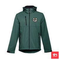 2362 Men's softshell jacket THC ZAGREB PERSONALIZED WITH ONE PATCH