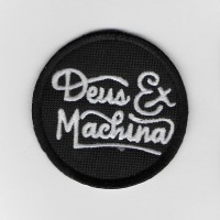 2383 Embroidered patch 6X6 DEUS EX MACHINA